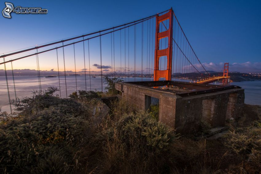 Golden Gate, edificio abandonado