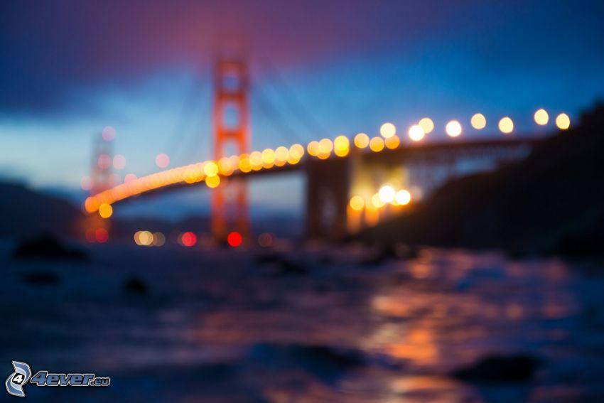 Golden Gate, luces