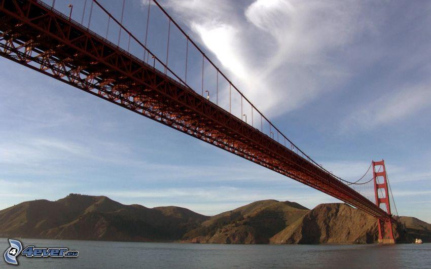 Golden Gate, puente, San Francisco, América, USA