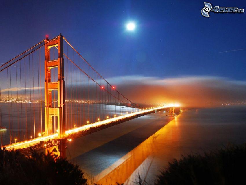 Golden Gate, puente iluminado