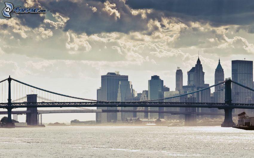 Manhattan Bridge, New York