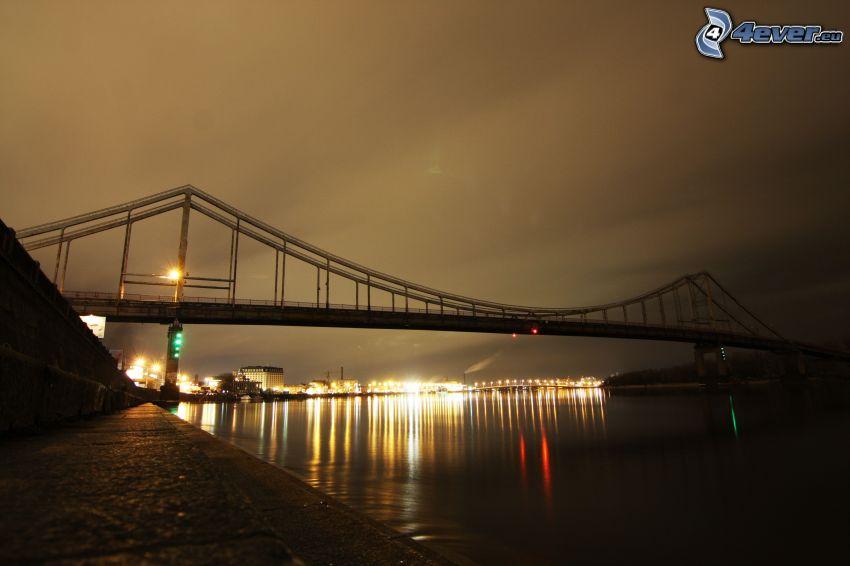 puente, noche