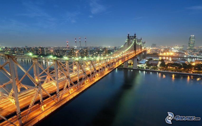 Queensboro bridge, Ciudad al atardecer