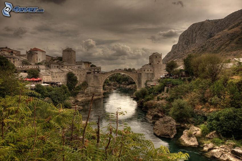Stari Most, Neretva
