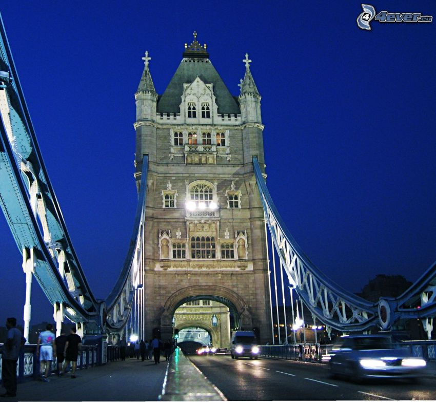 Tower Bridge, noche