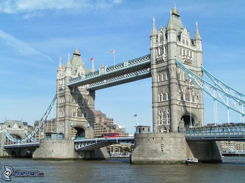 Tower Bridge, Río Támesis