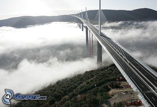 Viaducto de Millau, Autopista puente, Francia