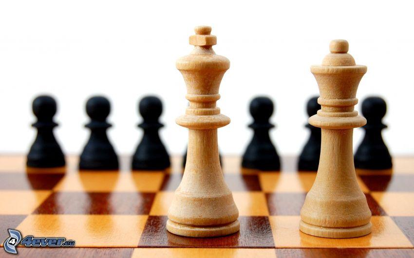 ajedrez, piezas de ajedrez