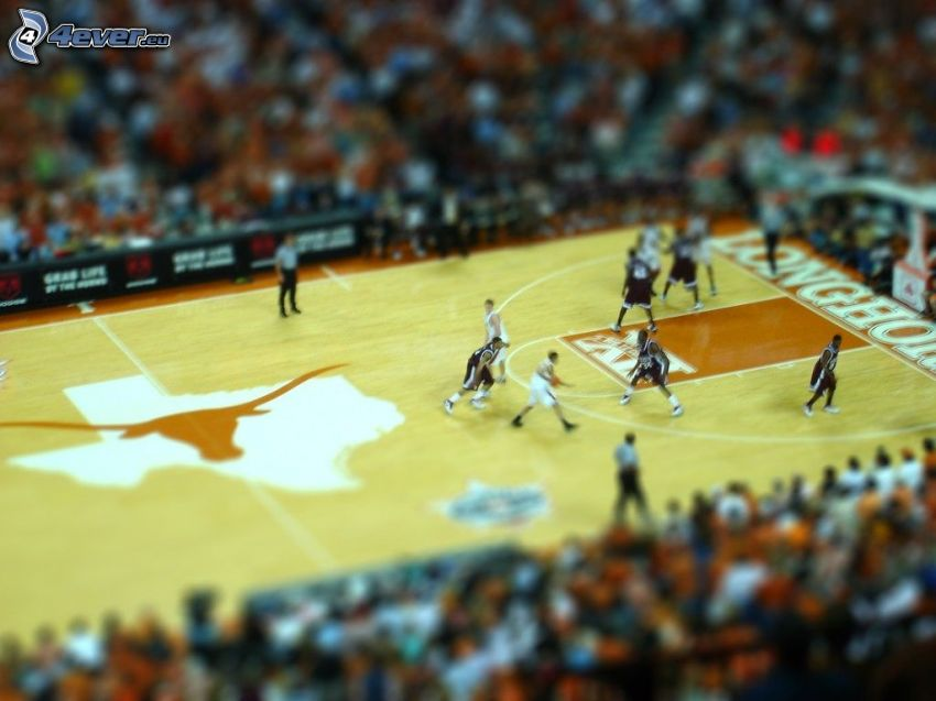 baloncesto, diorama