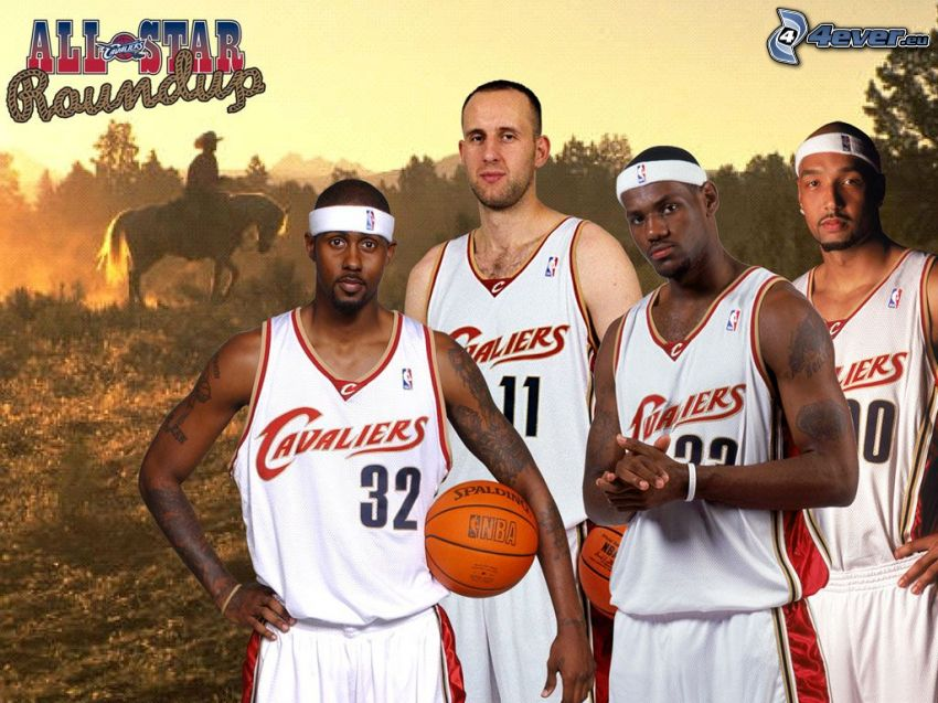 Cleveland Cavaliers, LeBron James, all star