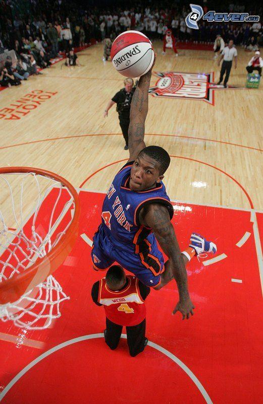 Nate Robinson, el baloncestista, NBA, cesta