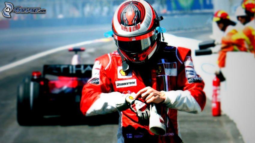 carreras, fórmula, Competidores