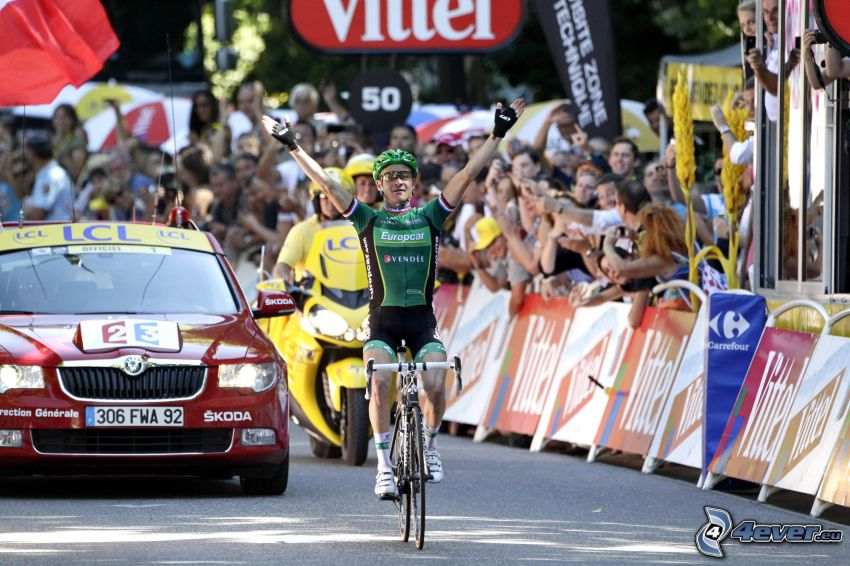 ganador, ciclista, Tour De France