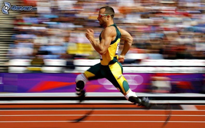 corredor, juegos paralímpicos