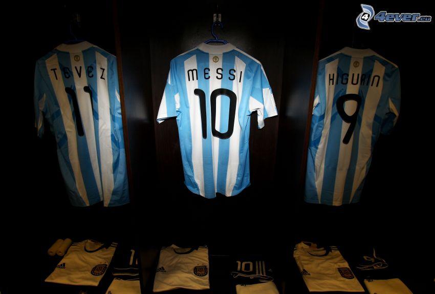 camiseta de equipo, Messi