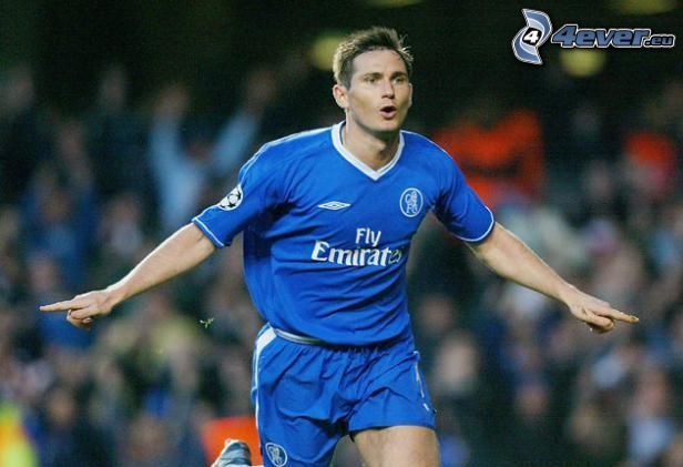 Frank Lampard, Chelsea, futbolista, manos