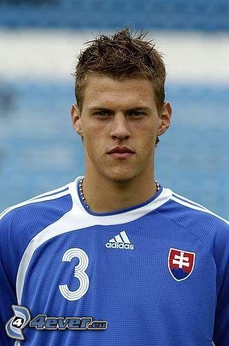 Martin Škrtel, futbolista, hombre, camiseta de equipo