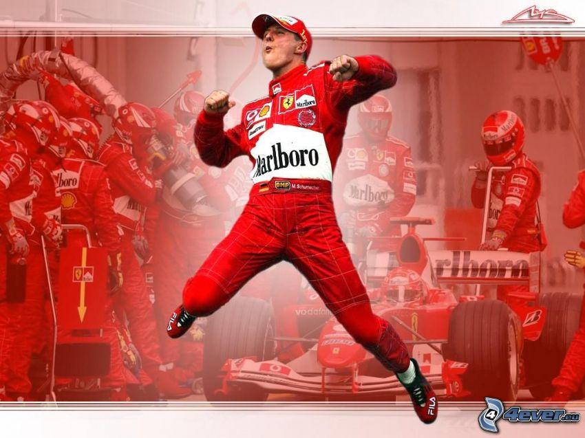 Michael Schumacher, Fórmula 1, Ferrari, ganador