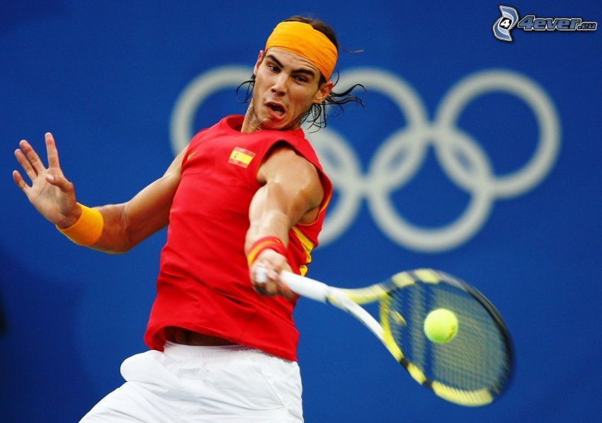 Rafael Nadal, jugador de tenis
