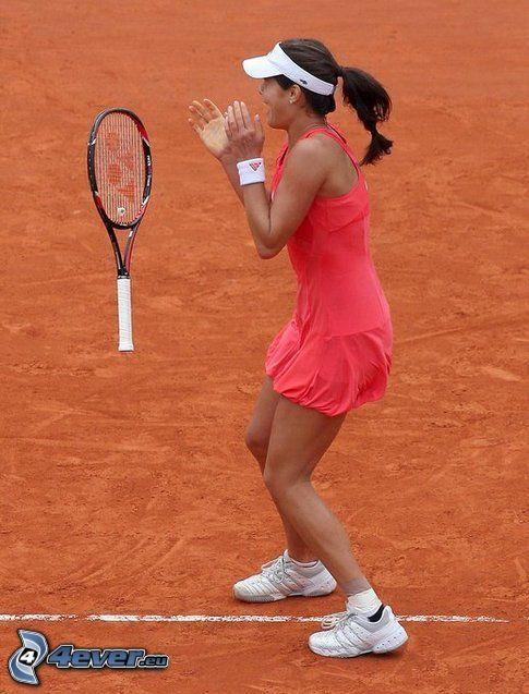 Roland Garros, ganador, Ana Ivanovic, jugadora de tenis