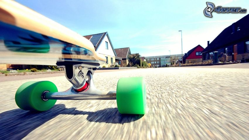 skateboard, calle