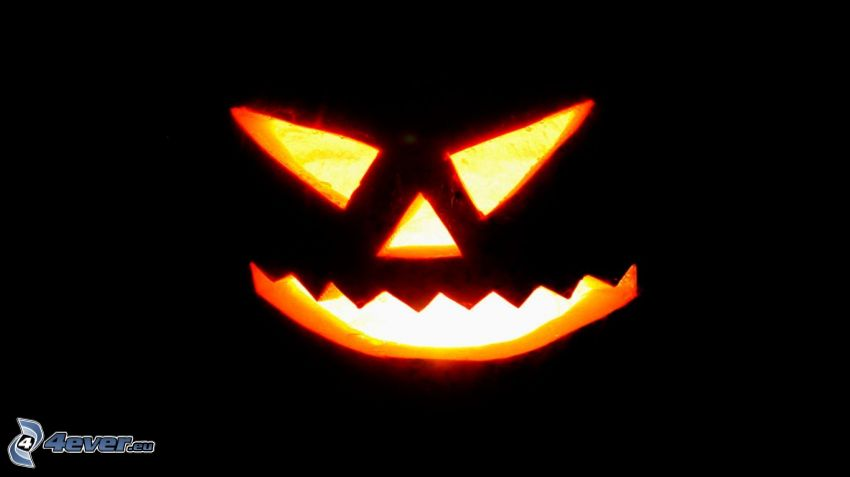 Calabaza de Halloween, jack-o'-lantern