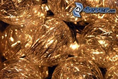 adornos navideños, bolas de navidad
