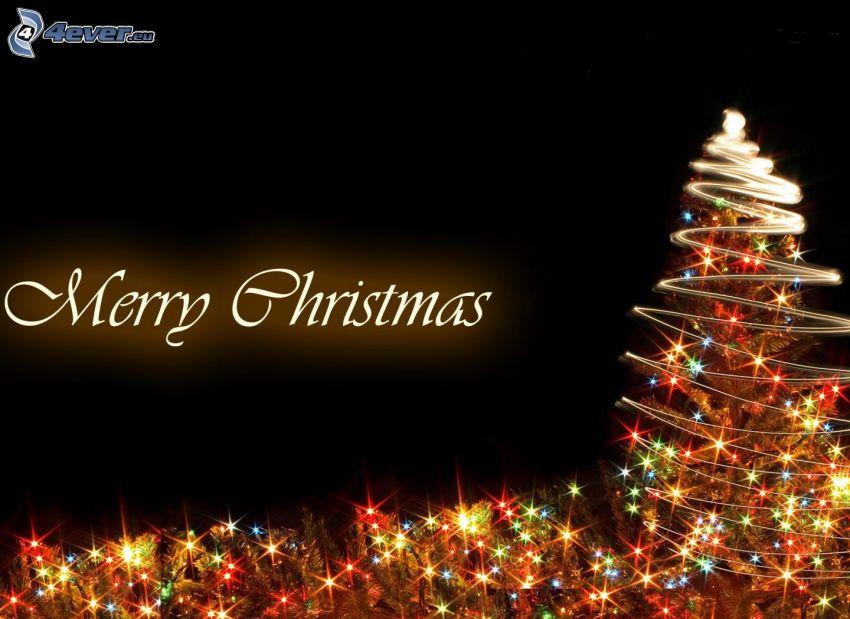 Merry Christmas, árbol de Navidad