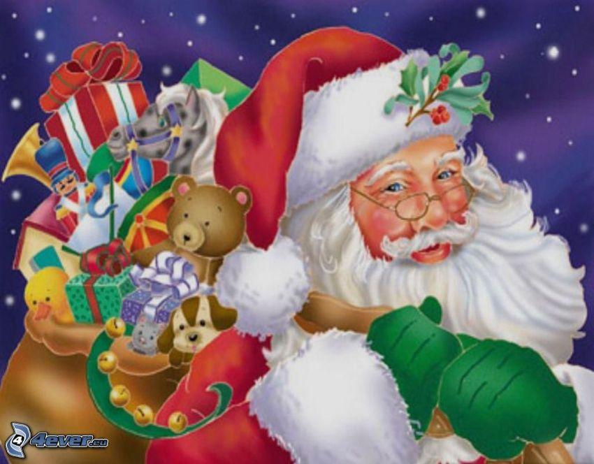 Papá Noel, regalos