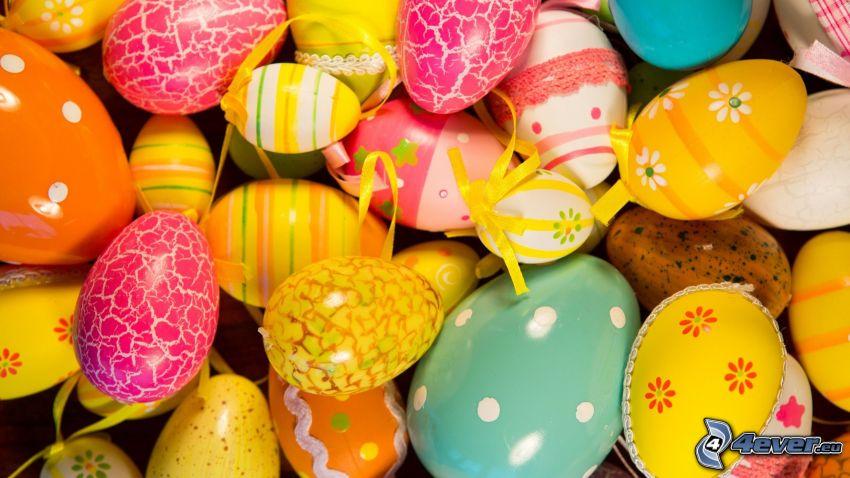 huevos pintados, huevo de Pascua
