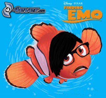 Finding Emo, Buscando a Nemo, parodia