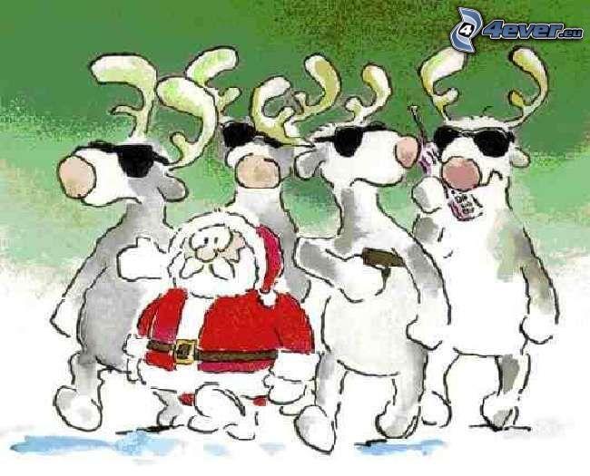 guardia, Papá Noel