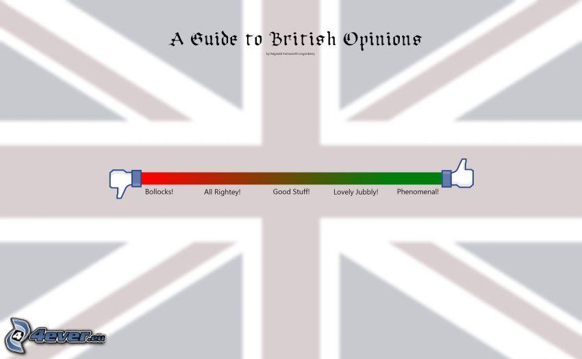 like, bandera inglesa