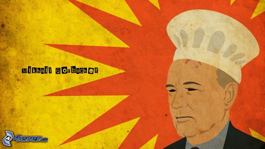 Mijaíl Gorbachov, cocinero