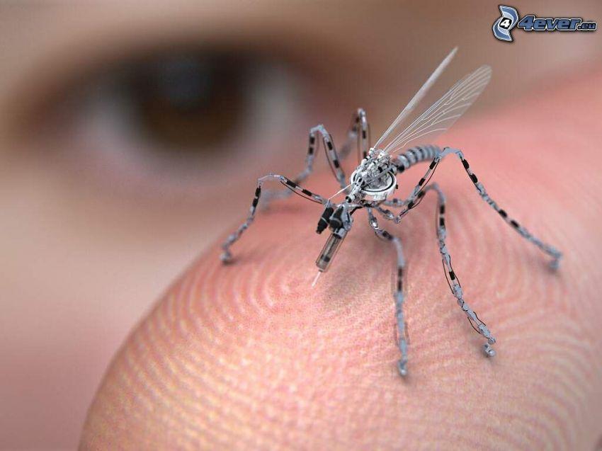 mosquito, robot