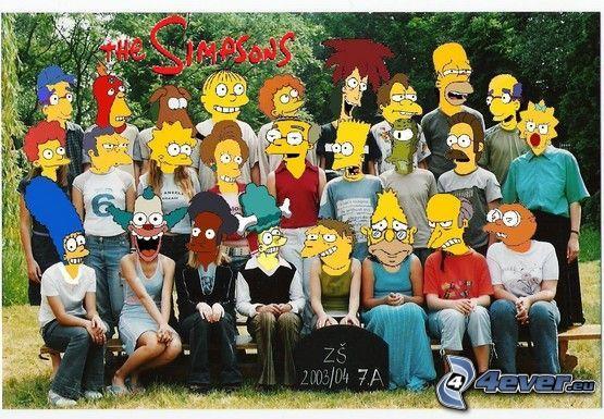 Los Simpson, clase, alumnos