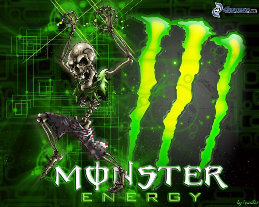 Monster, esqueleto