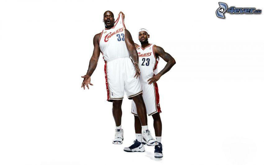 jugadores de baloncesto, Cleveland Cavaliers, negros