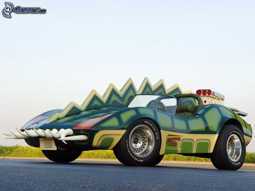 Corvette Custom Roadster the Alligator