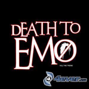 emo, muerte, fin
