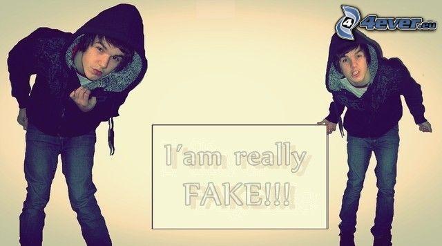 Fake emo