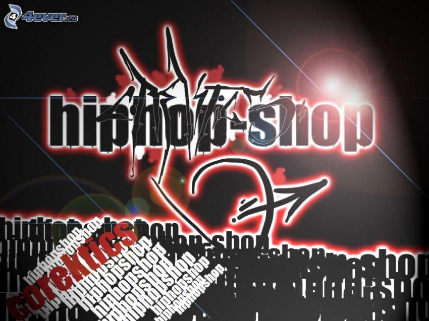 grafiti, esbozo, hip hop