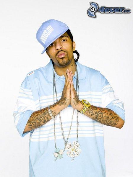 Lil Flip, hip hop, cadena, negro, rapper
