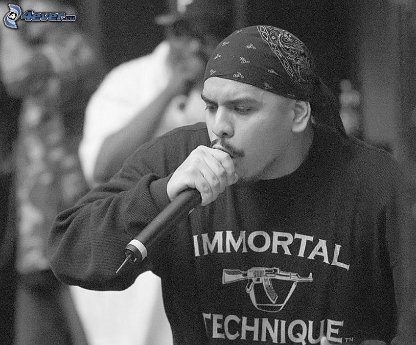 rapper, hiphoper, música
