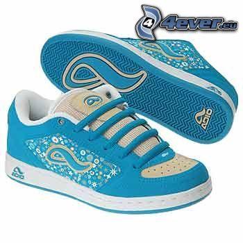 Adio, zapatillas de deporte azules