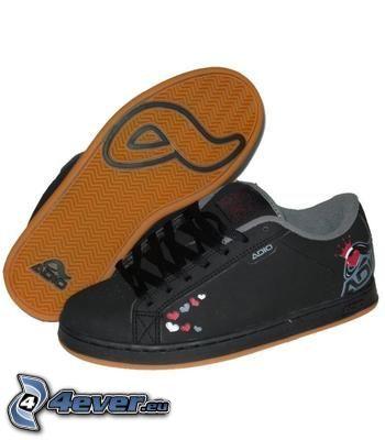 Adio, zapatillas de deporte negras