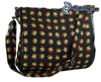 bolsa, marijuana, bolso