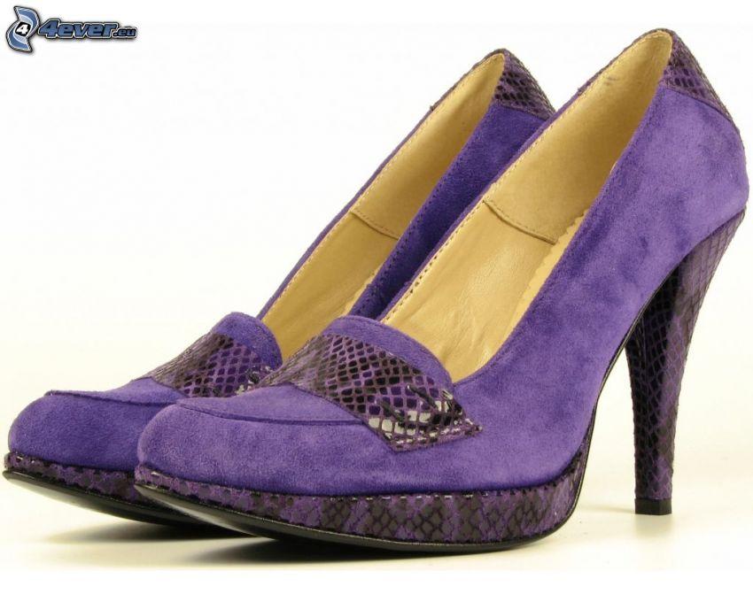 bombas de color púrpura