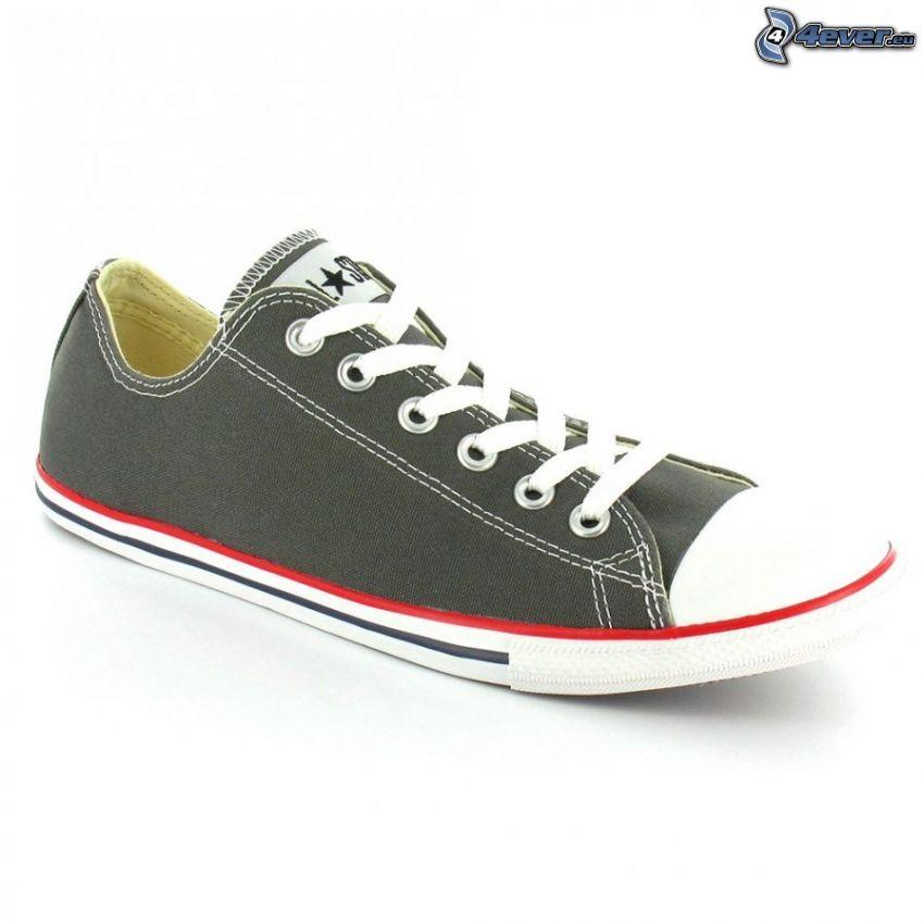 Converse, zapatilla de deporte negra