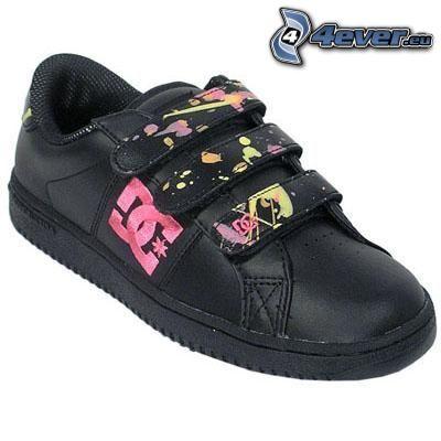 DC Shoes, zapatilla de deporte negra